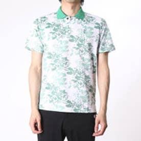 【アウトレット】アシュワース ASHWORTH ゴルフシャツ S/S ボタニカルアロマポロ BCK07 (グリーン)