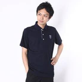 【アウトレット】アシュワース ASHWORTH ゴルフシャツ S/S  ASHIWORTHポロ KM998 (ネイビー)