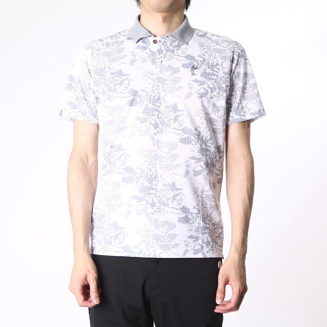 【SALE 66%OFF】【アウトレット】アシュワース ASHWORTH ゴルフシャツ S/S ボタニカルアロマポロ BCK07 (ホワイト) メンズ