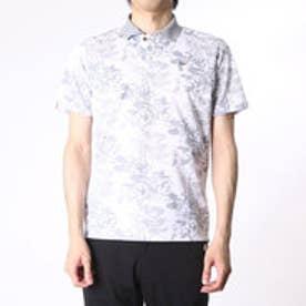 【アウトレット】アシュワース ASHWORTH ゴルフシャツ S/S ボタニカルアロマポロ BCK07 (ホワイト)