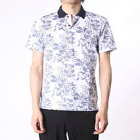 【アウトレット】アシュワース ASHWORTH ゴルフシャツ S/S ボタニカルアロマポロ BCK07 (ネイビー)
