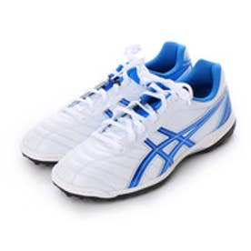 アシックス asics サッカートレーニングシューズ DS ライト2 TF TST665 3173 (パールホワイト×エレクトリックブルー)