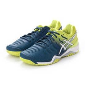 アシックス asics メンズ テニス オールコート用シューズ ゲル レゾリューション7 TLL784 256 (ブルー)