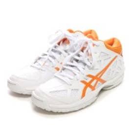アシックス asics バスケットボールシューズ ゲルフープ V7 スリム TBF322 ホワイト 100 (ホワイトOG)