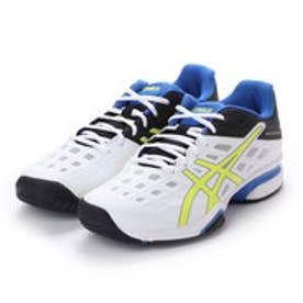 アシックス asics テニス オムニ クレー用シューズ プレステージライト OCワイド TLL771 227 (ホワイト)