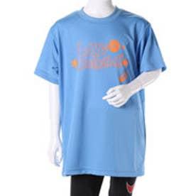 アシックス asics ジュニアバスケットボールシャツ Jr.プリントTシヤツHS XB344N (サックス)
