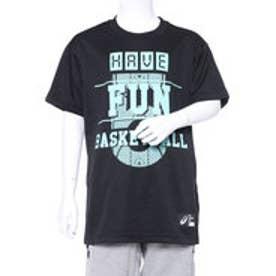 アシックス asics ジュニア バスケットボール 半袖 Tシャツ Jrプリントシヨートスリーブトツプ XB6637