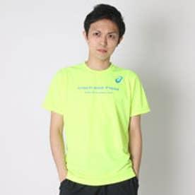 アシックス asics メンズ半袖Tシャツ プリントTシヤツHS XT588N (セーフテイイエローC)