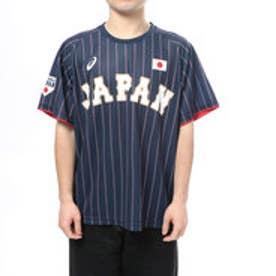 アシックス asics メンズ 野球 レプリカウェア ユニフォームTシャツ(V)Noネームイリ.イナバ BAT711