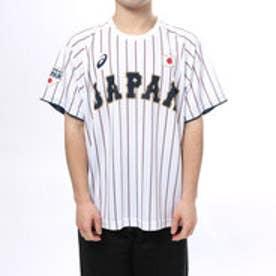 アシックス asics メンズ 野球 レプリカウェア ユニフォームTシャツ(H).サムライホワイト BAT712