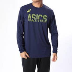 アシックス asics メンズ 陸上/ランニング 長袖Tシャツ プリントロングスリーブトツプ 2091A004