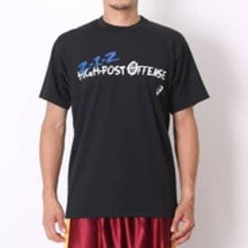 【アウトレット】アシックス asics バスケットボールTシャツ プリントTシャツHS XB972N ブラック (ブラック)