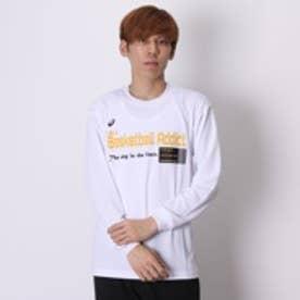 アシックス asics バスケットボールTシャツ XB973N ホワイト (ホワイトYL)