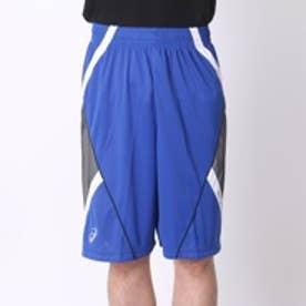 アシックス asics ユニセックスバスケットボールプラクティスパンツ プラパン AS XB761N  GB P  (ブルーxホワイト)