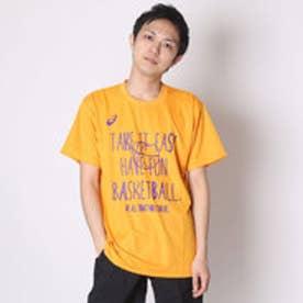 【アウトレット】アシックス asics バスケットボールTシャツ プリントTシヤツHS XB981N      (ゴールド)
