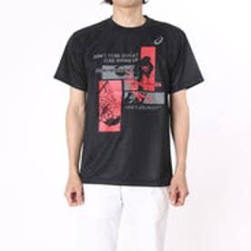 アシックス asics バスケットボールTシャツ プリントTシヤツHS XB985N      (ブラック)