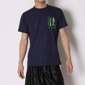 アシックス asics バレーボールTシャツ プリントTシャツHS XW686N  (ネイビーA)