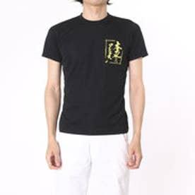 アシックス asics バレーボールTシャツ プリントTシャツHS XW687N  (ブラツクB)