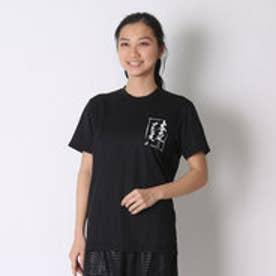 アシックス asics バレーボールTシャツ プリントTシャツHS XW686N  (ブラツクA)
