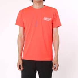 【アウトレット】アシックス asics バレーボールTシャツ プリントTシャツHS XW687N  (フラツシユコーラルD)
