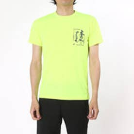 アシックス asics バレーボールTシャツ プリントTシャツHS XW687N  (セーフテイイエローA)