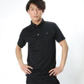 アシックス asics ユニセックス 半袖機能ポロシャツ ボタンダウンシヤツ EZA924