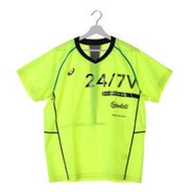 アシックス asics ユニセックス バレーボール ピステ ウォームアップシャツHS XWW623