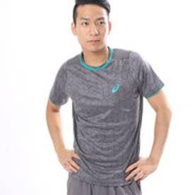 アシックス asics ユニセックス テニス 半袖Tシャツ クラブプリントトツプHS 151350