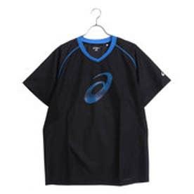 アシックス asics ユニセックス バレーボール 半袖Tシャツ 半袖ウオームアップシャツ XWW625