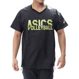 アシックス ASICS バレーボール 半袖Tシャツ ウオームアップショートスリーブトップ XWW627
