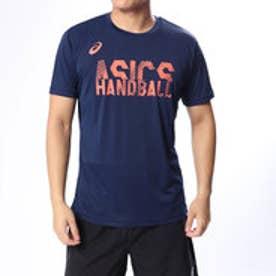 アシックス ASICS ハンドボール 半袖プラクティスシャツ プリントショートスリーブトップ XH9002