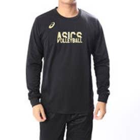 アシックス asics バレーボール 長袖Tシャツ ロングスリーブ トツプ 2053A005