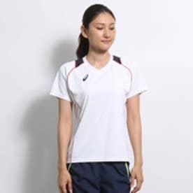 アシックス ASICS レディース バレーボール 半袖プラクティスシャツ W'SプラシャツHS XW6418