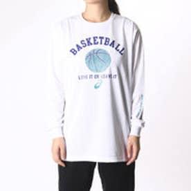アシックス asics レディース バスケットボール 長袖Tシャツ W'SプリントTシャツLS XB992N