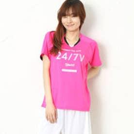 アシックス ASICS レディース バレーボール 半袖Tシャツ W'SプラシャツHS XW6224
