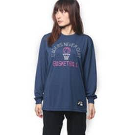 アシックス asics レディース バスケットボール W'Sプリント長袖Tシャツ XB6625