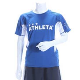 アスレタ ATHLETA ジュニアサッカープラクティスシャツ ジュニアゲームシャツ AP-0141 ブルー  (ブルーXホワイト)
