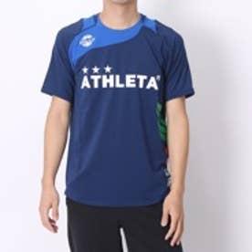 アスレタ ATHLETA サッカープラクティスシャツ AP-0125 ネイビー×ブルー