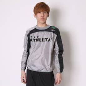 アスレタ ATHLETA サッカーウィンドジャケット ピステシャツ AP-0138 グレー  (グレー)