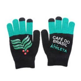 アスレタ ATHLETA ユニセックス サッカー/フットサル 手袋 フィールドニットグローブ 05190 (ブラック)