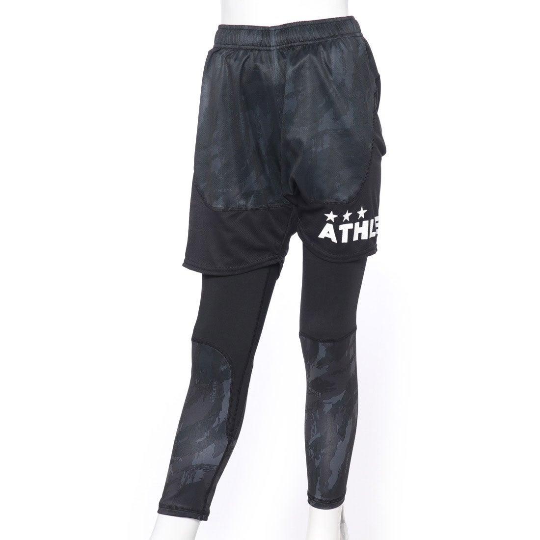 ロコンド 靴とファッションの通販サイトアスレタATHLETAジュニアサッカー/フットサルレイヤードパンツプラパンツインナーセット02230J