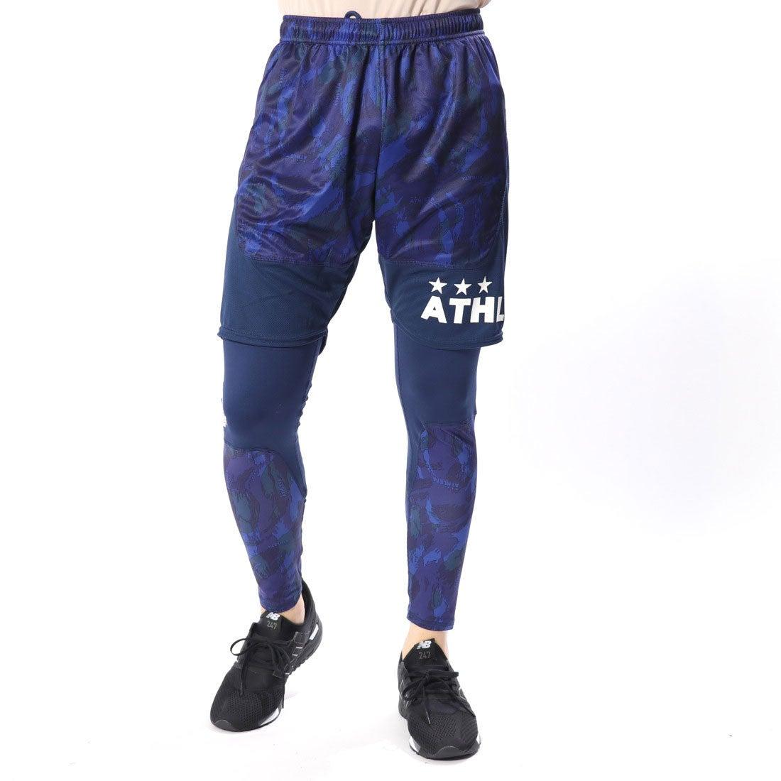 ロコンド 靴とファッションの通販サイトアスレタATHLETAメンズサッカー/フットサルレイヤードパンツプラパンツインナーセット02230