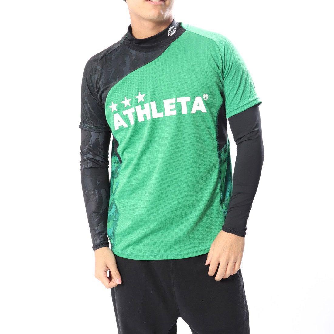 ロコンド 靴とファッションの通販サイトアスレタATHLETAメンズサッカー/フットサルレイヤードシャツプラシャツインナーセット02299
