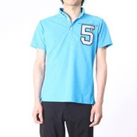 【アウトレット】オーバカナル AUX BACCHANALES ゴルフシャツ  AB M161P06B (ブルー)