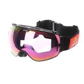 アックス AXE ユニセックス スキー/スノーボード ゴーグル 960-ECM 507 (ブラック)