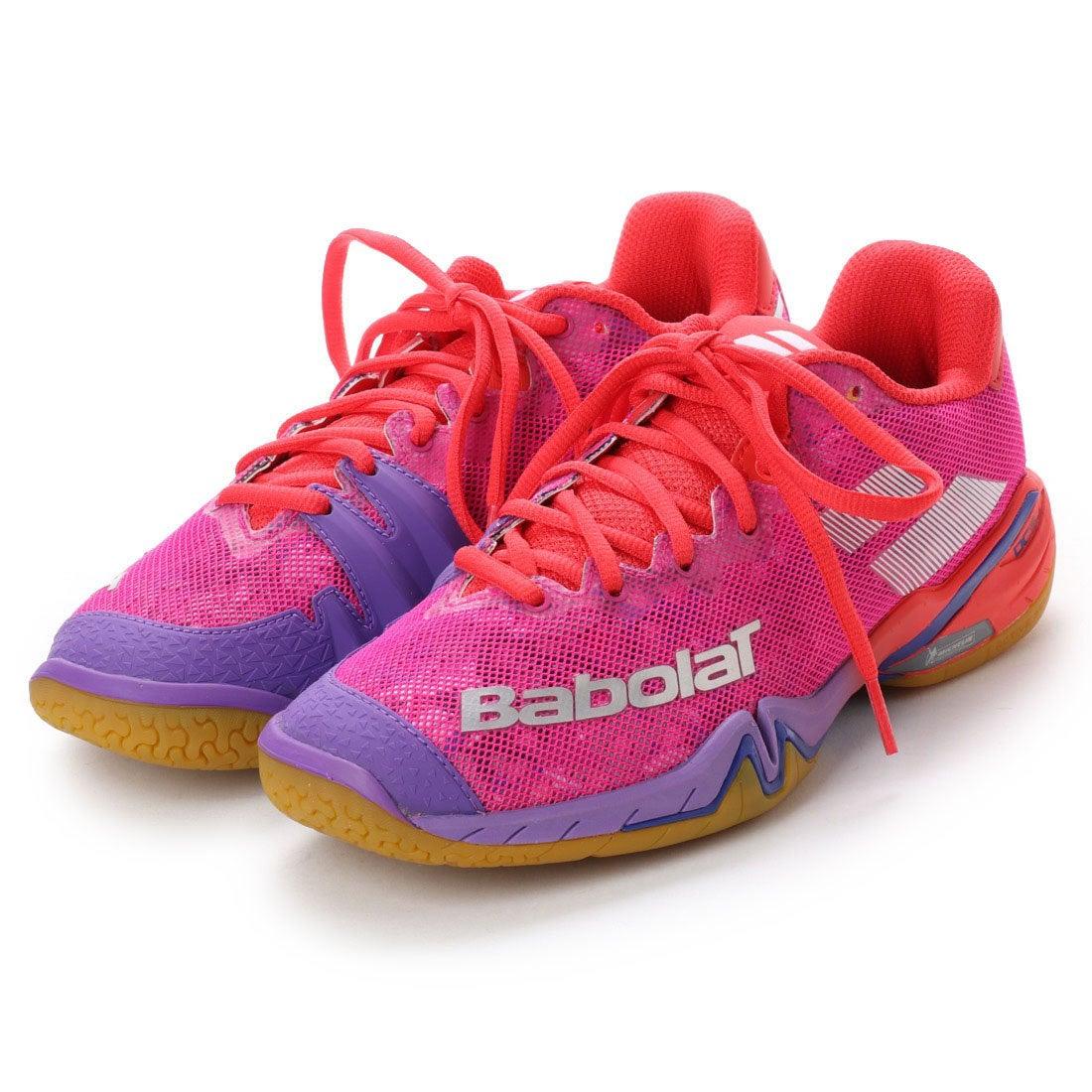 【SALE 10%OFF】バボラ Babolat レディース バドミントン シューズ シャドウツアー BASF1802