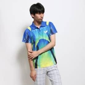 バタフライ Butterfly 卓球シャツ ソキウス 44340 ブルー×イエロー