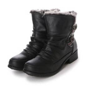 【アウトレット】ビーシーカンパニー B.C.COMPANY ブーツ カジュアルブーツ 182108 ブラック 4325 (ブラック)