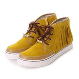 ビーシーカンパニーミニ B.C.company mini ブーツ フリンジカジュアルブーツ 15550 4451 (イエロー)