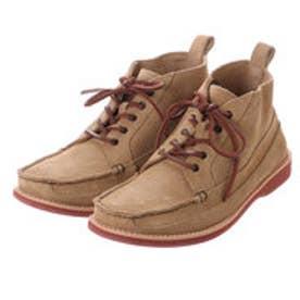 ビーシーアール BCR ブーツ カジュアルブーツ BC3623 ブラウン 0062 (ベージュ)